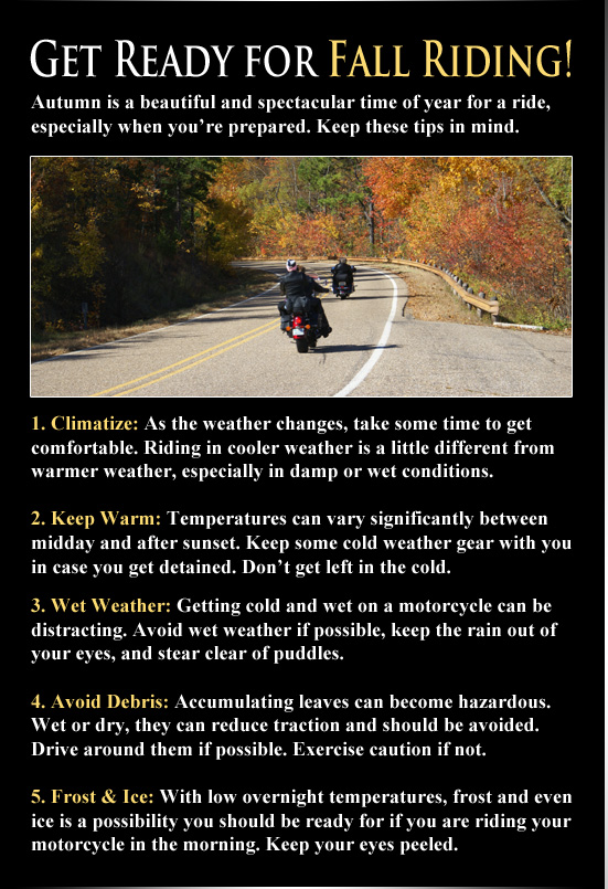 Fall Riding Tips